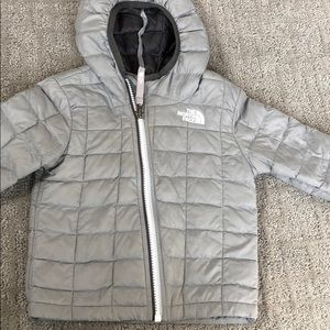 The North Face hooded jacket, Sz 12-18M